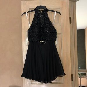 Sherri Hill Dresses - Sherri hill two piece dress black